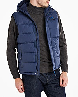 Snowdonia Fleece Lined Padded Gilet
