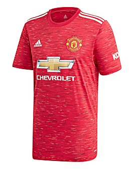 adidas Manchester United FC 2020/21 Short Sleeve Home Shirt