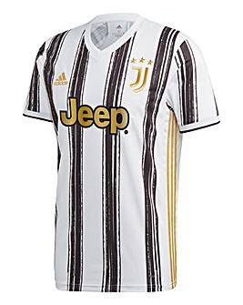 adidas Juventus FC 2020/21 Short Sleeve Home Shirt