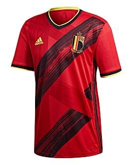 Belgium adidas Home Short Sleeve Jersey