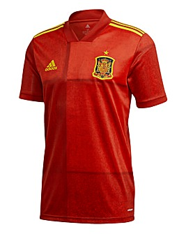 Spain adidas Home Short Sleeve Jersey
