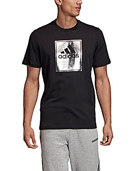 adidas Large Box T-Shirt