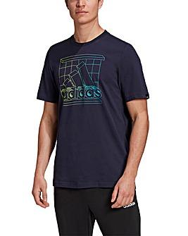 adidas Retro Logo T-Shirt