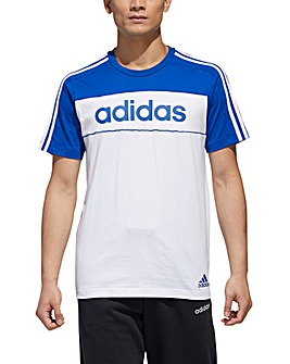 adidas Colour Block T-Shirt