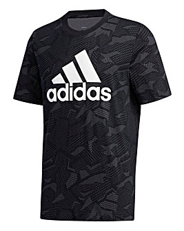 adidas All Over Print T-Shirt