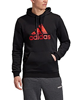 adidas Large Logo Hoodie