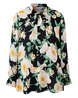 Floral Printed Long Sleeve Blouse