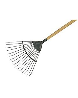 Cs Long Handled Lawn / Leaf Rake