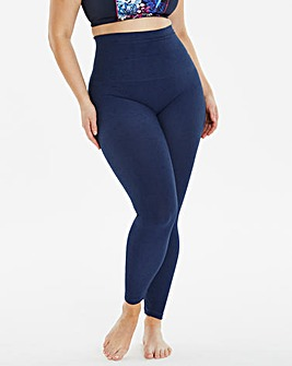 MAGISCULPT Firm Control Denim Footless Tights Leggings
