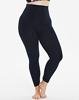 Navy Ankle Length Firm Control Leggings