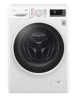 LG F4J6TY0WW 8kg 1400RPM Washing Machine