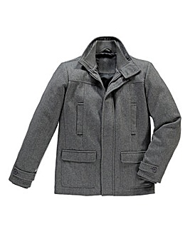 Jacamo Tidwell Wool Mix Coat