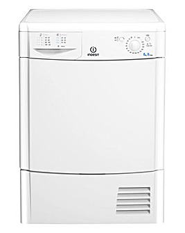 Indesit EcoTime IDC8T3B 8kg Condenser Dryer White