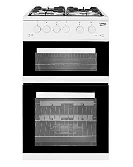 Beko Twin Cavity Gas Cooker + Install
