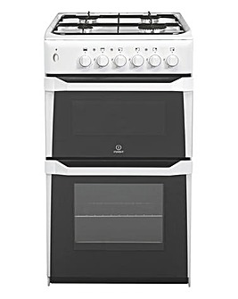 Indesit IT50GW Gas Cooker Grill + Hob