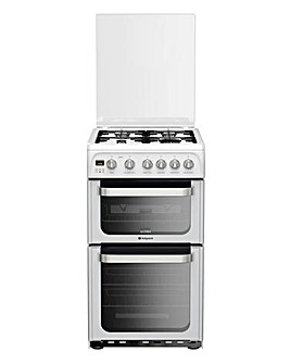 Hotpoint Double Oven Gas Cooker+Install