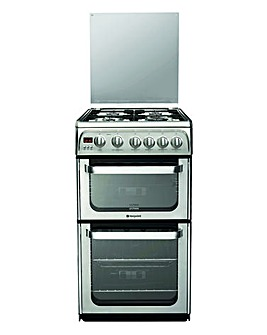 Hotpoint HUG52X Gas Cooker+Install