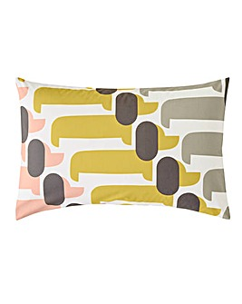 Orla Kiely Dog Show Pillow Case Pair