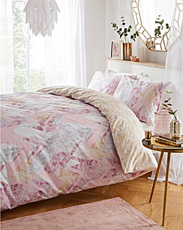 Marble Duvet Cover Set