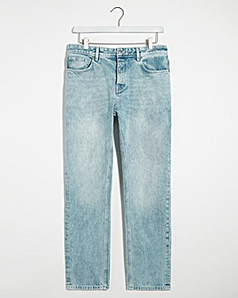 Bleachwash Straight Fit Jeans