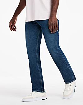 Midwash Straight Fit Jeans