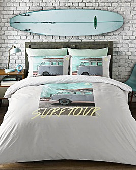 VW Coast Surfer Duvet Cover Set