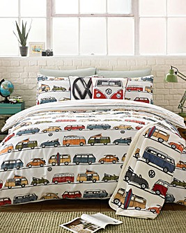 VW Fun Camper Duvet Cover Set
