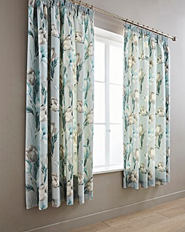 Tulip Duck Egg Curtains