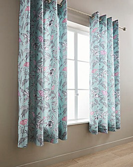 Oriental Butterfly Curtains