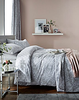 Alford Silver Duvet Cover Set
