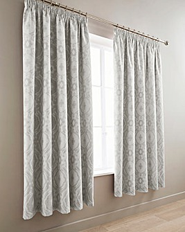 Alford Silver Blackout Curtains