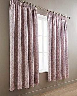 Alford Blush Blackout Curtains