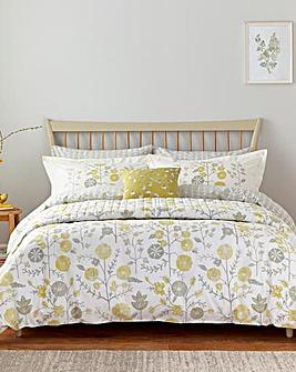 Sanderson Batik Garden Bedspread