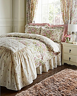Rose Boutique Reversible Duvet Cover