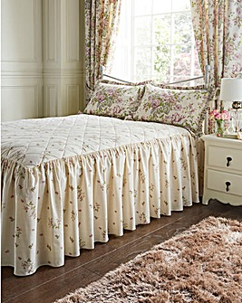 Rose Boutique Reversible Bedspread