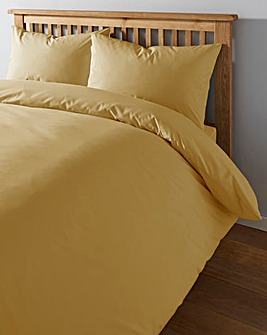 Easy-Care Plain-Dye Duvet Cover