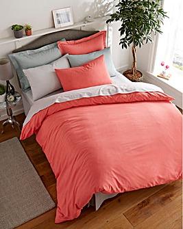 Easy-Care Plain-Dye Duvet Cover