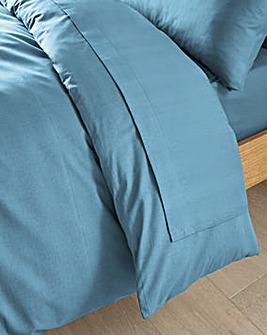 Easy-Care Plain-Dye Flat Sheet
