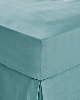 Easy-Care Plain-Dye Fitted Sheet
