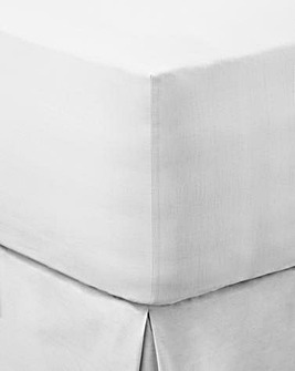 Easy-Care Plain-Dye Extra Deep Fitted Sheet