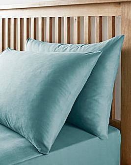 Easy-Care Plain-Dye Housewife Pillow Cases