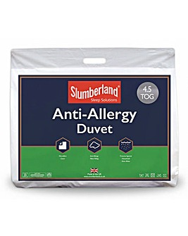 Slumberland Anti-Allergy 4.5 Tog Duvet