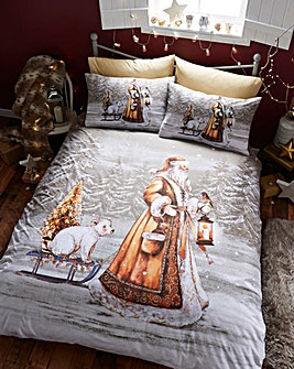Twilight Santa Duvet Cover Set