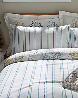 Sanderson Pippin Teal Pillow Cases