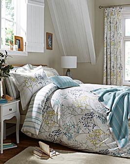 Sanderson Pippin Teal Duvet Cover