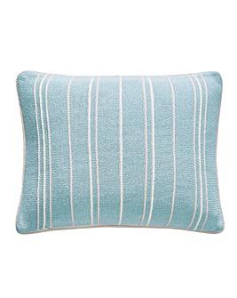 Sanderson Pippin Teal Cushion