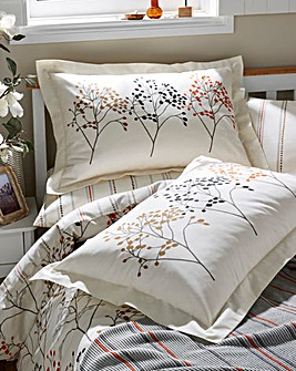 Sanderson Pippin Coral Pillowcases