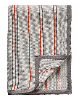 Sanderson Pippin Coral Knit Throw