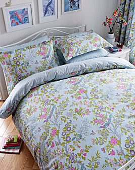 V&A Chinese Bluebird Duvet Cover