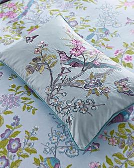 V&A Chinese Bluebird Cushion